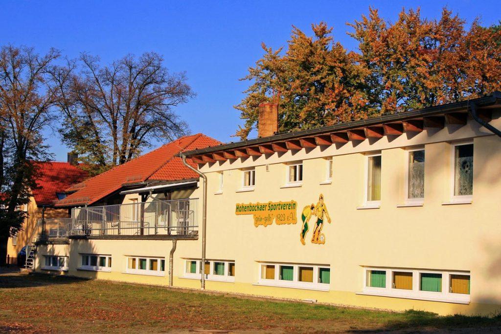 Sportlerheim Hohenbocka